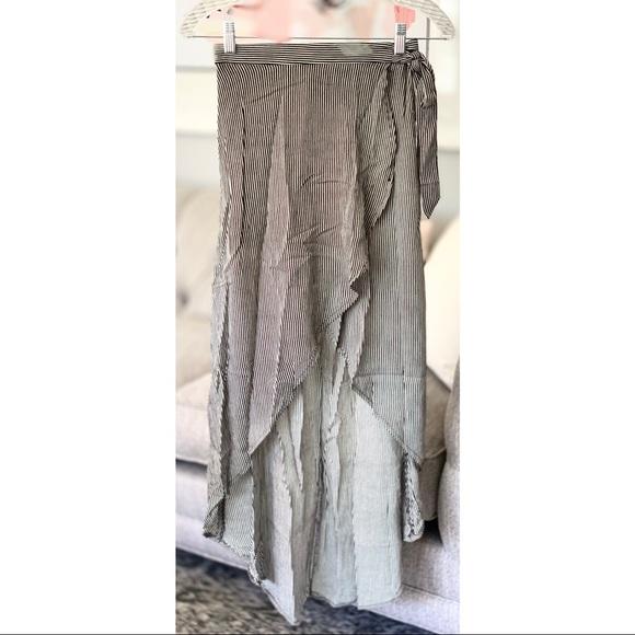 Joe Benbasset Dresses & Skirts - Joe B   High-Low Wrap Maxi Skirt (NWOT)